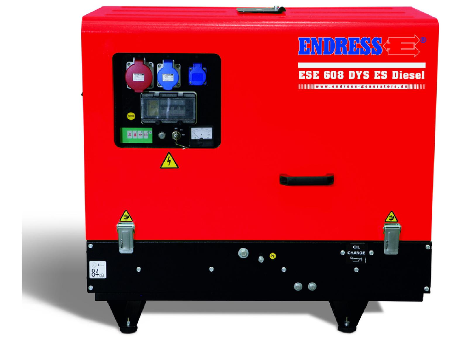 Diesel Stromerzeuger bis 50 kVA Endress ESE 608 YS-GT ES DI Silent